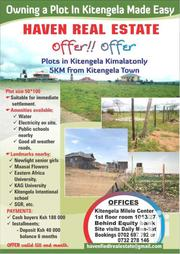 Kitengela Plots Only 180k | Land & Plots For Sale for sale in Kajiado, Kitengela