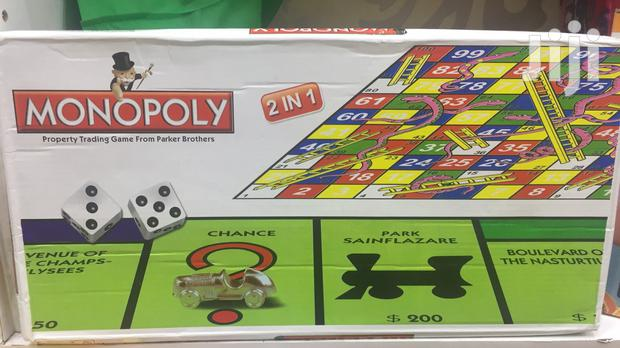 Monopoly Game 2 In 1