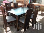 6seater Dining Table Gray | Furniture for sale in Nairobi, Ngando