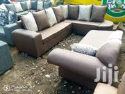 Stylish Modern Ready Made Corner Sofa Together | Furniture for sale in Nairobi, Ngara