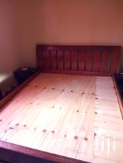 Fantastic 5*6 Bed Quality Design And Finish Hard Wood | Furniture for sale in Nairobi, Karura