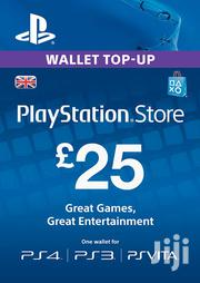 Playstation Gift Card - (PS Vita/PS3/PS4) UK | Other Services for sale in Nairobi, Nairobi Central
