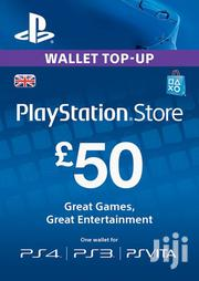 Playstation Gift Card -(PS Vita/PS3/PS4) UK | Video Game Consoles for sale in Nairobi, Nairobi Central