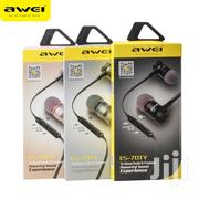 Awei ES-70TY Earphones | Accessories for Mobile Phones & Tablets for sale in Nairobi, Nairobi Central