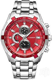 8023 Curren Silver Red | Watches for sale in Nairobi, Nairobi Central