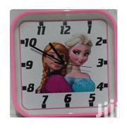 Pink Clock 27*27 Cms | Home Accessories for sale in Nairobi, Lower Savannah