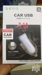 JOYROOM C-M216 3.1A Dual USB Ports Smart Fast Car Charger For Phones | Vehicle Parts & Accessories for sale in Nairobi, Nairobi Central