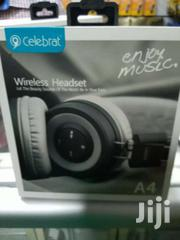 Celebrat Wireless Headphones A4 | Accessories for Mobile Phones & Tablets for sale in Nairobi, Nairobi Central