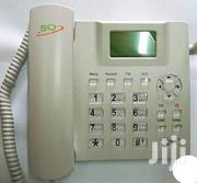SQ Gsm Phone For Office And Home With SIM Slot FM Radio-white | Home Appliances for sale in Nairobi, Nairobi Central