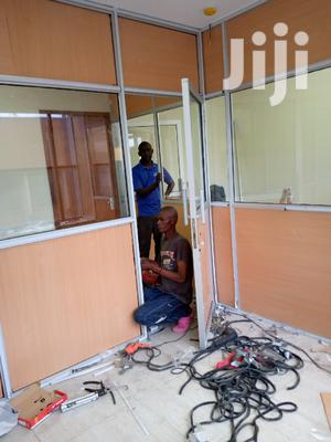 Office Partition And Door