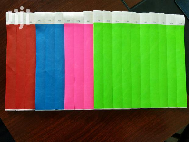 Event Wristbands / Paper Wristbands / Hotel Wristbands