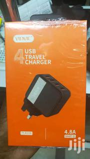 Vidvie PLB108 Fast 4 Usb Travel Charger | Accessories for Mobile Phones & Tablets for sale in Nairobi, Nairobi Central