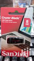 8 GB Sandisk Cruzer Blade Flash Disk | Computer Accessories  for sale in Nairobi Central, Nairobi, Nigeria