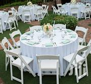 White Fold-able Seats Hire Services | Party, Catering & Event Services for sale in Nairobi, Nairobi Central