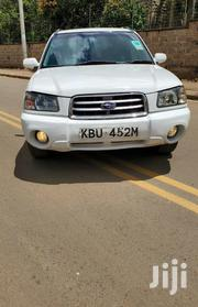 Subaru Forester 2003 White | Cars for sale in Nairobi, Nairobi West