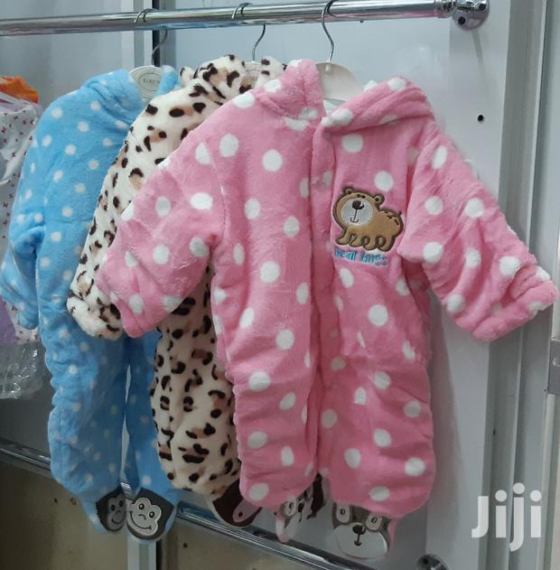 Fluffy Baby Rompers