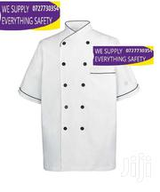Short Sleeved White Chefs Jacket With Pipping | Clothing for sale in Nairobi, Nairobi Central
