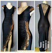 Black and Gold Sequin Dress Size 10/12 | Clothing for sale in Nairobi, Nairobi Central