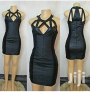 Black Leather Dress Size 10 | Clothing for sale in Nairobi, Nairobi Central