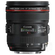 Canon EF 24-70mm F/4L IS USM Lens NEW | Cameras, Video Cameras & Accessories for sale in Nairobi, Nairobi Central
