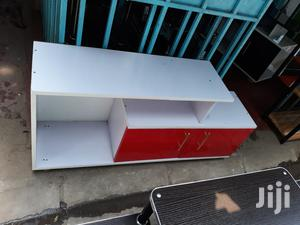 Red +White Tv Stand Available