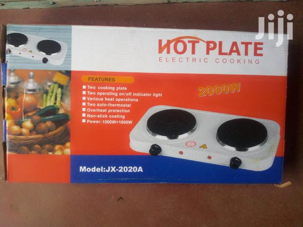 Electric Double Hotplate 2000w