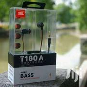 JBL T180 Aluminum In Ear Headphone Earbuds Tangle Free Earphones   Accessories for Mobile Phones & Tablets for sale in Nairobi, Nairobi Central