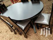 Oval Mahogany Dining Table | Furniture for sale in Nairobi, Ngando