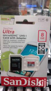 8 GB Sandisk Ultra Micro SD Memory Card | Accessories for Mobile Phones & Tablets for sale in Nairobi, Nairobi Central