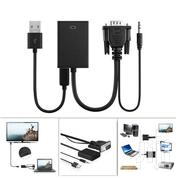 VGA to HDMI Converter Adapter Cable With Audio Output   Audio & Music Equipment for sale in Nairobi, Nairobi Central
