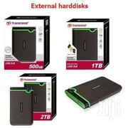 Transcend External Hard Disks 500 Gb 6k 1tb 7k 2tb 13k | Laptops & Computers for sale in Uasin Gishu, Kimumu