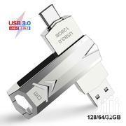 OTG Flash Disk Type C - 64GB ,128GB 10x Speeds 360° Rotating   Computer Accessories  for sale in Nairobi, Nairobi Central