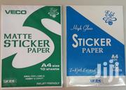 Glossy and Matte Sticker Papers for Epson   Printers & Scanners for sale in Nairobi, Nairobi Central
