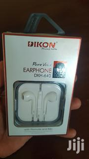 Original High Quality DIKON Earphones. | Accessories for Mobile Phones & Tablets for sale in Nairobi, Lower Savannah