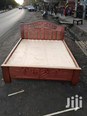 Mahogany Bed 4 *6feets | Furniture for sale in Nairobi, Nairobi Central