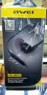 Awei Wired Hi-Fi Earphone (ES-30TY) | Accessories for Mobile Phones & Tablets for sale in Nairobi, Nairobi Central
