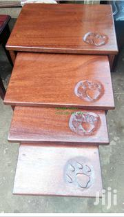 Mahogany Nest of Stools | Furniture for sale in Nairobi, Nairobi Central