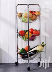 Stainless Steel 3 Tier Kitchen Fruit & Vegetable Trolley Stand | Home Appliances for sale in Nairobi, Nairobi Central