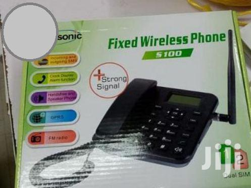 Archive: Topsonic Fixed-wireless-desk-phone