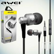 Awei ES-50TY Metal Stereo Earphones In-Ear Earbuds Super Bass HIFI | Audio & Music Equipment for sale in Nairobi, Nairobi Central