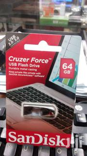 64 GB Sandisk Cruzer Force Flash Disk | Computer Accessories  for sale in Nairobi, Nairobi Central