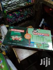 Monopoly Scrabble Puzzle 2 in 1 -Improve Your Spellings | Books & Games for sale in Nairobi, Nairobi Central