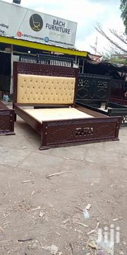 6 By 6 Leather Bed | Furniture for sale in Nairobi, Embakasi