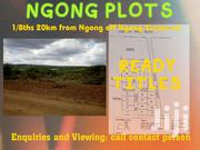 1/8ths Ngong,20km From Ngong Off Ngong-suswa Rd(Being Tarmacked) | Land & Plots For Sale for sale in Kajiado, Ngong
