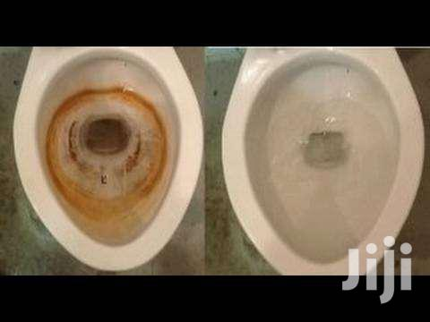 Washroom Cleaning/Toilet Stain Removal