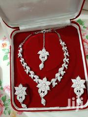 New Silver Imitations Set Includes Necklace,Earrings and Tikka | Jewelry for sale in Mombasa, Majengo