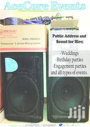 Music System For Hire | Party, Catering & Event Services for sale in Nairobi, Kahawa