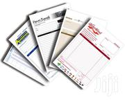 Good Quality Receipt Book Printing | Manufacturing Services for sale in Nairobi, Nairobi Central