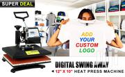 Heat Press Machine Digital Swing Away Transfer Sublimation Machine | Printing Equipment for sale in Nairobi, Nairobi Central