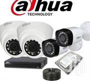 Dahua 4 CCTV Cameras (Night Vision) Complete Surveillance System | Security & Surveillance for sale in Nairobi, Nairobi Central